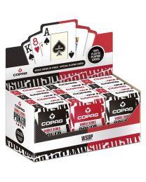 12 Decks COPAG WSOP Playing Cards
