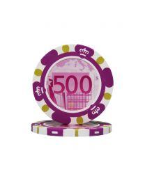 Euro Design Chip 500 Euro