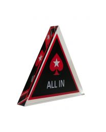 Poker Pro All In Triangle Button
