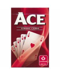 ACE Strong Playing Cards Red