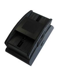 Automatic playing card shuffler