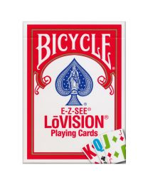 Bicycle E-Z-SEE LŌVISION Deck Red