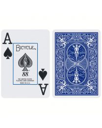 Bicycle Cards Jumbo Index Blue