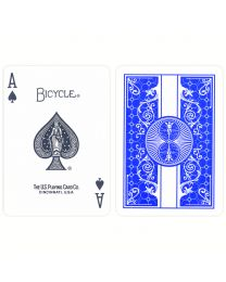 Bicycle Prestige Plastic Playing Cards Blue
