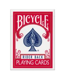 Bicycle Poker Deck Rider Back Red