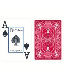 Plastic Playing Cards Bicycle Prestige Red