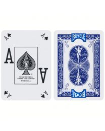 Bicycle Poker Peek Pro Playing Cards Blue