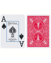 Bicycle Cards Jumbo Index Red