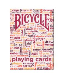 Table Talk Bicycle Playing Cards Red