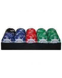 Bicycle Tournament Poker Chips with Tray
