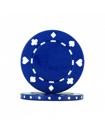 Blue Poker Chips Suit
