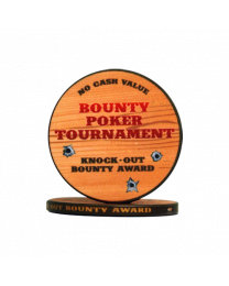 Bounty Poker Tournament Chips