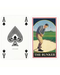 Golf playing cards Two bridge decks