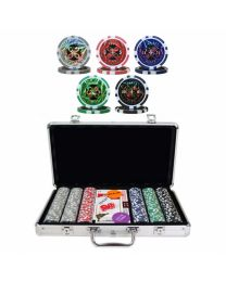 Cartamundi Poker Set 300 Laser Chips