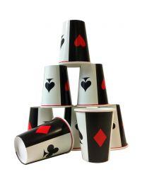Casino Cups (8 Pieces)