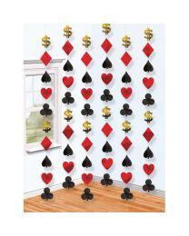 Casino String Decorations