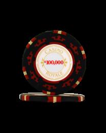 Poker Chips Casino Royale $100000