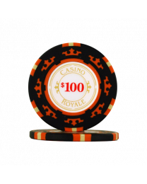 Poker Chips Casino Royale $100