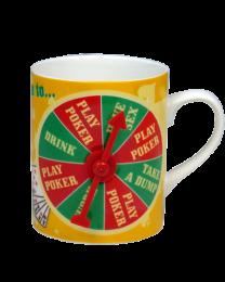 Coffee Mug Poker King Decision
