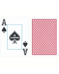 Poker Cards Copag Jumbo Face red