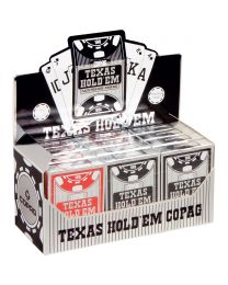 12 Decks Brick Box COPAG Poker Index