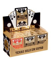 COPAG Cards 12 Deck Brick Texas Holdem