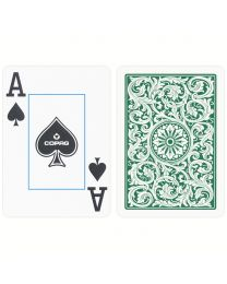 COPAG Playing Cards Burgundy and Green Double Set