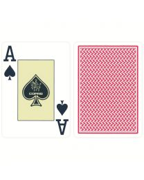 COPAG Texas Holdem cards red