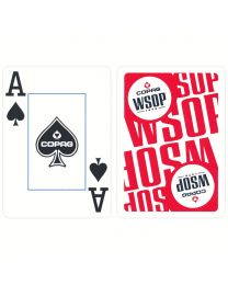 WSOP Plastic Poker Deck COPAG Red