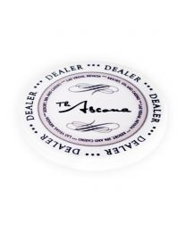 Ascona Ceramic Dealer Button