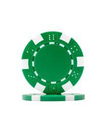 Dice Poker Chips Green