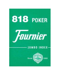 Fournier 818 poker cards jumbo index