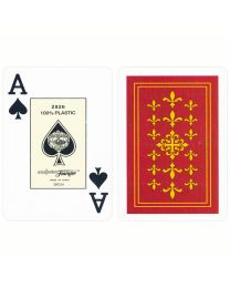 Fournier Flor de Lis Bridge Size Jumbo Index Playing Cards