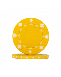 Yellow Poker Chips Suit