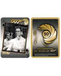 007 playing cards 50th anniversary