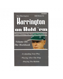 Harrington on holdem Volume III