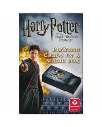 Harry Potter speelkaarten in een magische doos