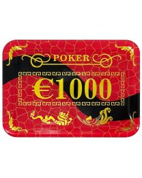 High Stakes Poker Plaque €1000