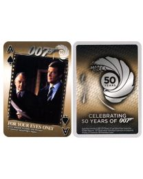 James Bond 50 years limited edition cards games