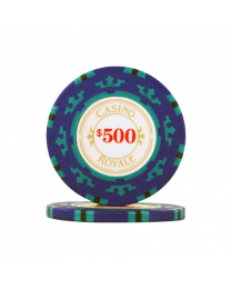 Poker Chips Casino Royale $500