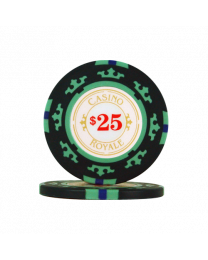 Poker Chips Casino Royale $25