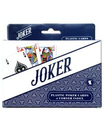 Joker Plastic Poker Card Set of 2 Decks