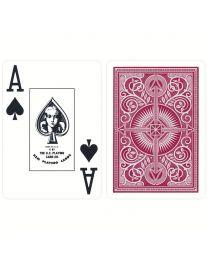KEM Plastic Cards Red
