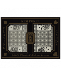 KEM WPT Poker Playing Cards