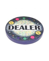 Mosaic Ceramic Dealer Button