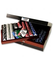Luxury poker set WPT 1000