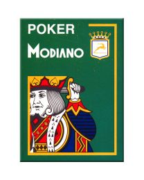 Poker Modiano Cards Green