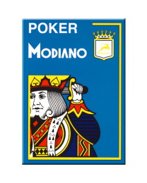 Poker Modiano Cards Light Blue