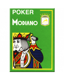 Poker Modiano Cards Light Green