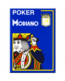 Poker Modiano Cards Blue